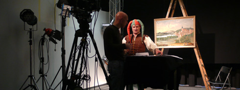 Hermann Bote als Till Eulenspiegel
