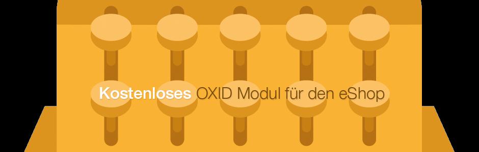 Kostenloses OXID Modul für den eShop