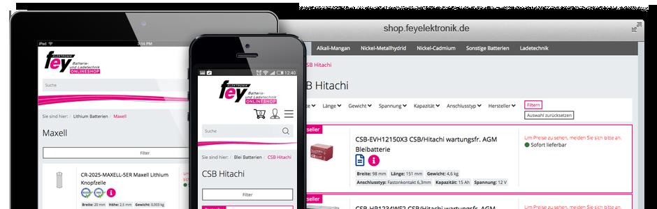 Feyelektronik Onlineshop